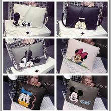 Fashion Designer brand bag ladies quality Mickey handbag uniform solid shoulder