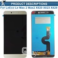For Letv le LeEco Max 2 Max2 X820 X823 X829 LCD Screen Display+Touch Panel Digitizer Assembly Replacement for Letv x820 display