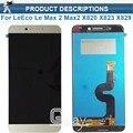 Para le letv leeco max 2 max2 x820 x823 x829 Pantalla LCD + Touch Panel Digitalizador Asamblea Reemplazo para Letv x820 pantalla