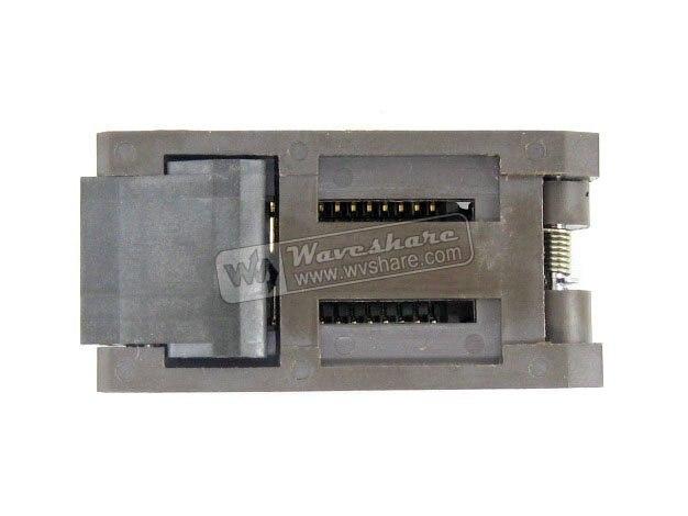 module SOP28 SO28 SOIC28 FP-28-1.27-07 Enplas IC Test Burn-In Socket Programming Adapter 7.9mm Width 1.27mm Pitch бесплатная доставка diy электронные tps54331drg4 ic reg бак adj 3а 8 soic 54331 tps54331 3 шт