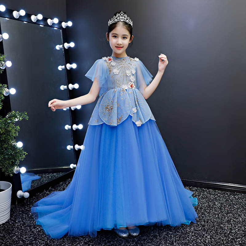 Loyal Girl Wedding Party Flower Holy Dress Communion Party Prom Princess Pageant Dress Low Price Girls' Formal Occasion