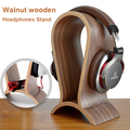 Klassische Holz Kopfhörer Headset Stand Kopfhörer Halter Nussbaum Aufhänger Headset Display für Schlägt JBL für Bose Universal Headset-in Kopfhörer-Zubehör aus Verbraucherelektronik bei