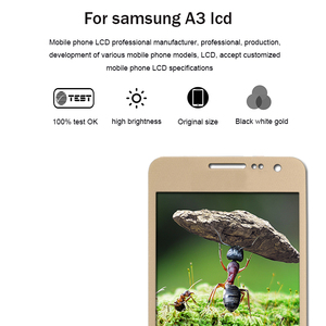 Image 3 - A3 Display Voor Samsung Galaxy A3 LCD A3000 A300F, A300FU, A300G, A300HQ, A300M, a300YZ Scherm Touch digitizer Vergadering