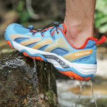 Clorts/Мужская обувь для плавания; легкая обувь из искусственной кожи для плавания; быстросохнущая обувь с сеткой для плавания; спортивная обувь; 3H028