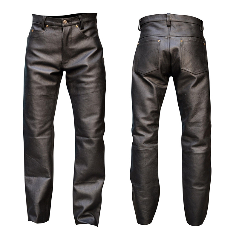 New Man's Sexy Tight Pants Locomotive Catsuit Patent Leather Costumes For Bar Clubwear Stripper Fancy Party
