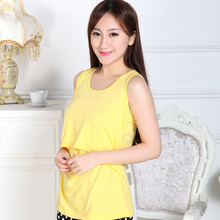 Hot selling Solid Pregnant Maternity Clothes Nursing Tops Breastfeeding Vest T-Shirt Free shipping & wholesale