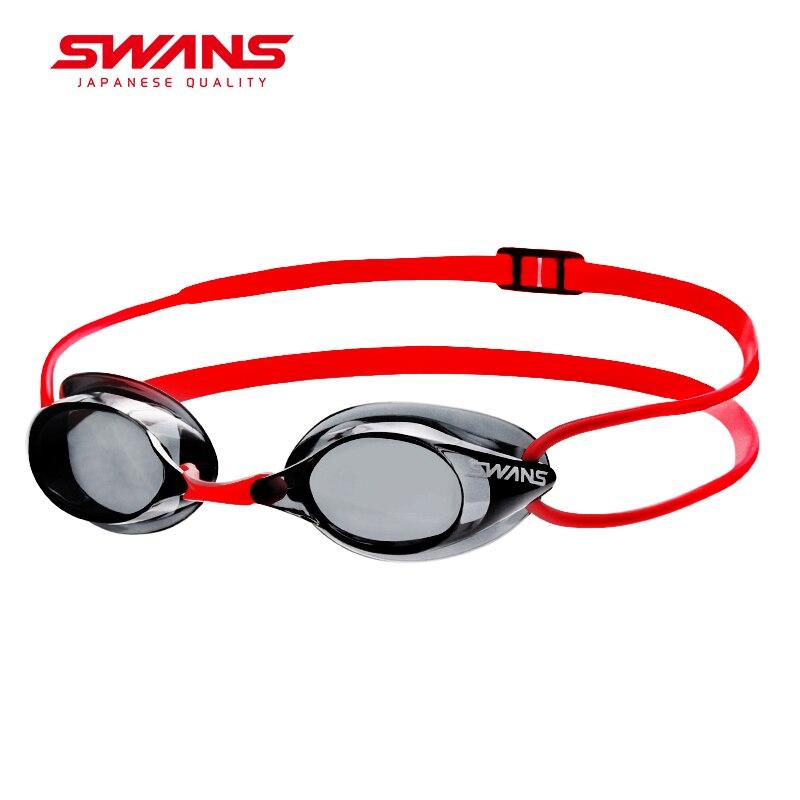 Łabędzie wykonane w japonii profesjonalne okulary pływackie Anti Fog ochrona przed promieniowaniem UV silikon regulowany bez fartuch gogle SR 1N w Okulary pływackie od Sport i rozrywka na AliExpress - 11.11_Double 11Singles' Day 1