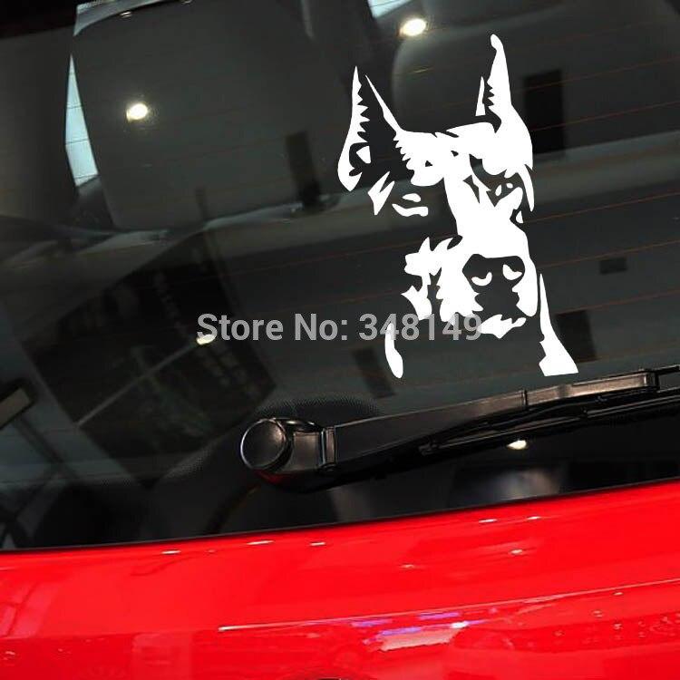 Reflective Car Sticker And Decal Car Decoration Hound Dog for Toyota Chevrolet cruze Volkswagen skoda VW Hyundai Kia Lada opel