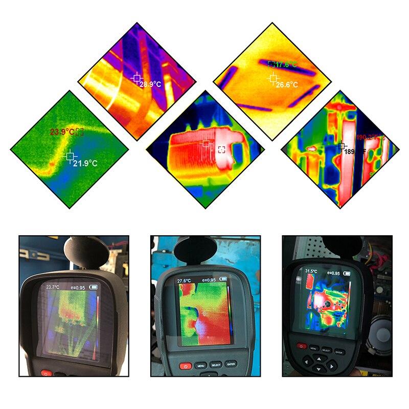 Новинка года! Портативный Инфракрасный термометр, портативная тепловизор камера HT-18, портативная ИК тепловизор камера HT18 220*160