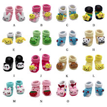 MUQGEW 2018 new clothing Cartoon Newborn Baby Girls Boys Anti-Slip Socks Slipper Shoes Boots kids clothes sports suit(China)