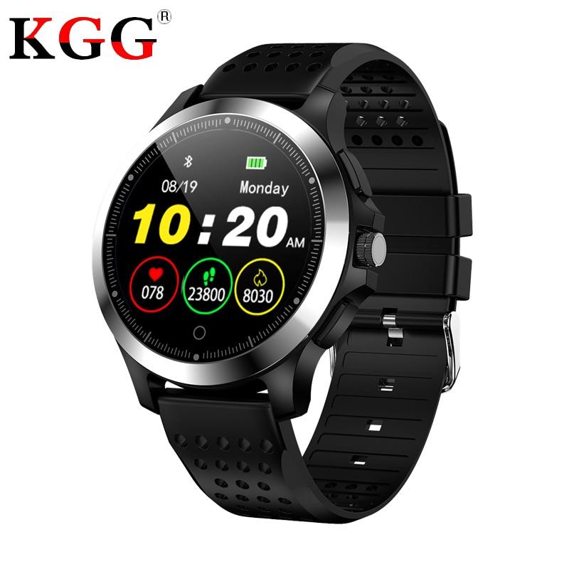 Waterproof W8 ECG PPG Fitness Bracelet Smart Watch Blood Pressure Heart Rate Monitor Pedometer Business Smart