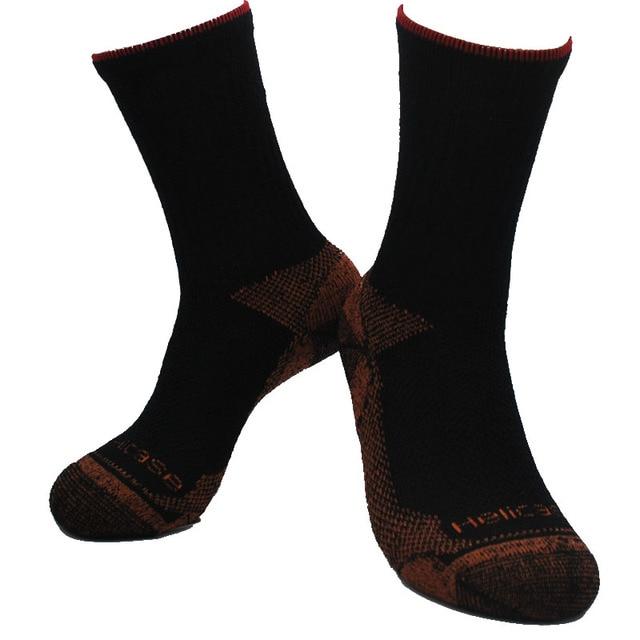 1 paire 40% chaussettes de marche en laine mérinos éponge plus épaisses chaussettes de randonnée chaussettes pour hommes chaussettes pour femmes