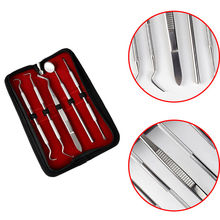 5pcs/Lot Stainless Dental Oral Cavity Checker Tool Set Kit Teeth Clean Hygiene