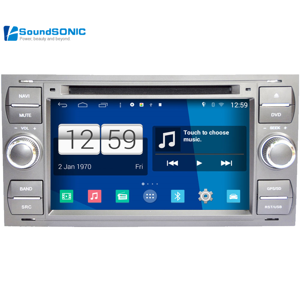 Android 4 4 4 for ford fiesta transit galaxy fusion mondeo car infotainment radio dvd gps navigation media central multimedia in car multimedia player from