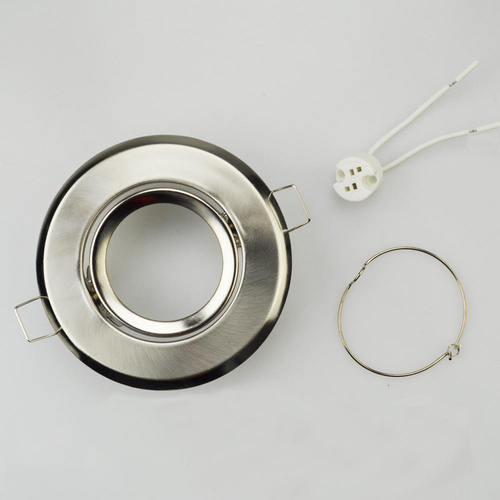 10 Stcke Lampe Halter Aluminium Fhrte Deckenleuchten Rahmen Mr16 Leuchte Hinunter Lichter Zubehr