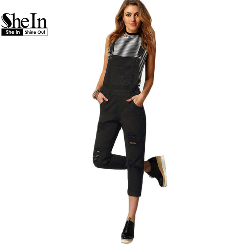 Popular Black Denim Overalls-Buy Cheap Black Denim Overalls lots ...