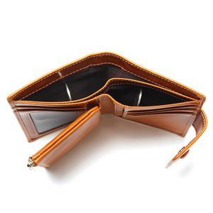Image 5 - Portefeuille pour femmes en cire dhuile, portefeuille 2020, pochette de marque en cuir, Long, portefeuille Design décontracté