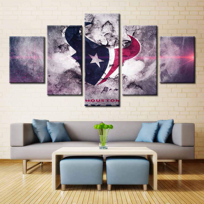 Houston Texans Canvas Wall Decor Iron Blog