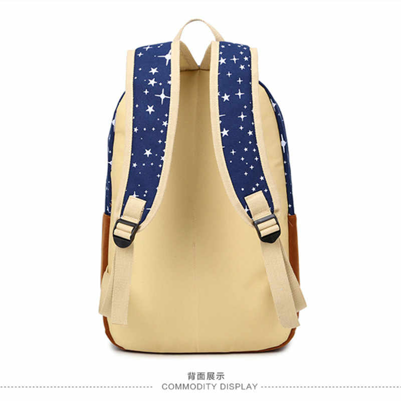 865f73a8b810 ... Miwind Лидер продаж холст Для женщин рюкзак большой Ёмкость школьные  сумки для подростков печати рюкзаки для ...