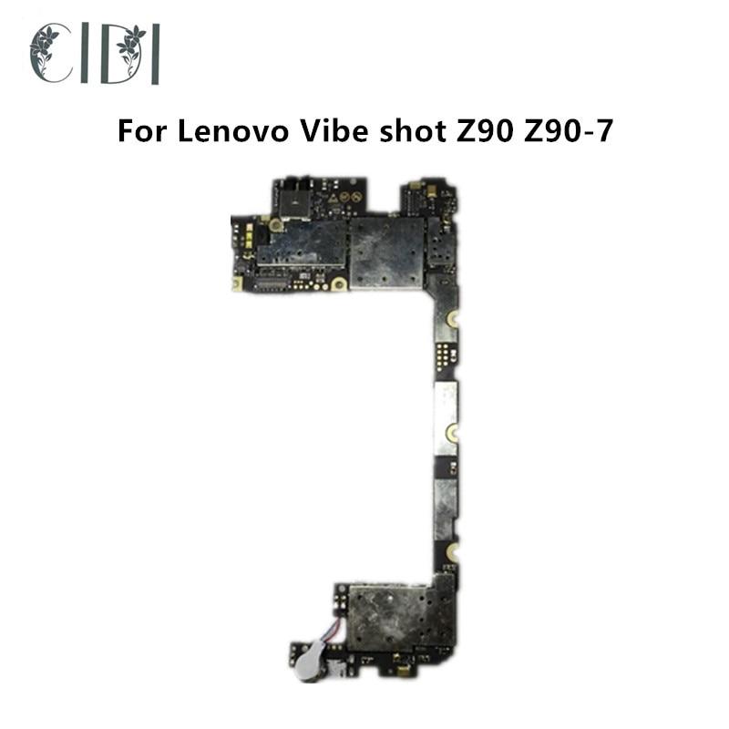 CIDI Full Working Used main Board For Lenovo Vibe shot Z90