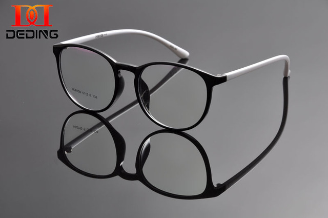 7095096459 DEDING New Fashion Glasses Men Eyeglasses Frame Women Eye Glasses Vintage  Round Eyewear Frames Stylish Spectacles