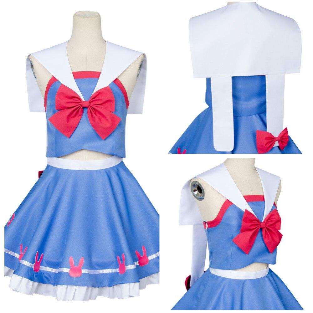 Dress up diary baju pelaut - Menonton Lebih Dari D Va Hana Lagu Pelaut Jas Seragam Cosplay Costume Outfit Dress Gaun