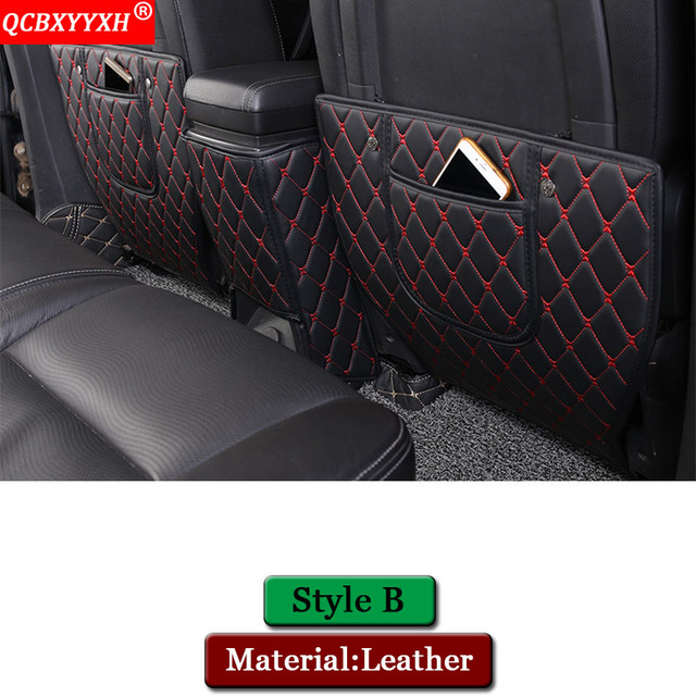 QCBXYYXH Car Styling Car Interior Seat Protector Side Edge Protection Pad Sticker Anti-kick Mats For Chevrolet Captiva 2010-2018