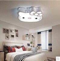 Nova Adorável Sweety Kitty Criativo Quarto Lâmpadas de Luz de Teto Para O Quarto das Crianças Colorido Home Lighting DHL Livre Lustres     -