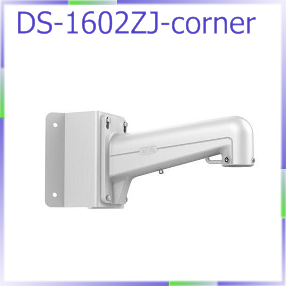 DS-1602ZJ-corner replace DS-1633ZJ cctv camera bracket corner wall mount bracket for speed dome PTZ camera favourite 1602 1f