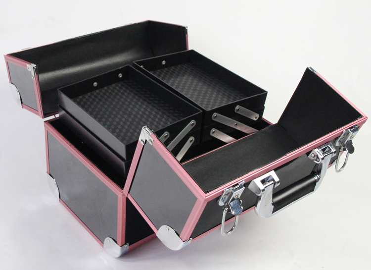 새로운 도착 대형 메이크업 주최자 스토리지 박스, 화장품 주최자 가방, 여성 메이크업 박스 컨테이너 여행 화장품 가방 케이스-에서보관함 & 쓰레기통부터 홈 & 가든 의  그룹 2