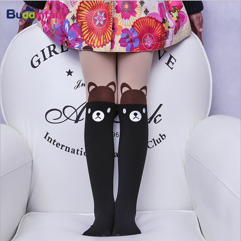 1c94fa6b4c Detail Feedback Questions about New high elastic children girls tights  Velvet white black fresh colors cartoon Cat bunny for baby kids Girl  Pantyhose ...