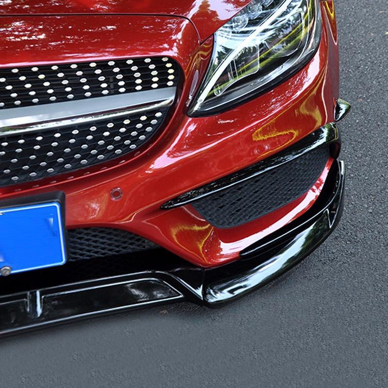 FOR Mercedes W205 front bumper front lip rear bumper vent W205 AMG kit accessories C CLASS 2015 2018