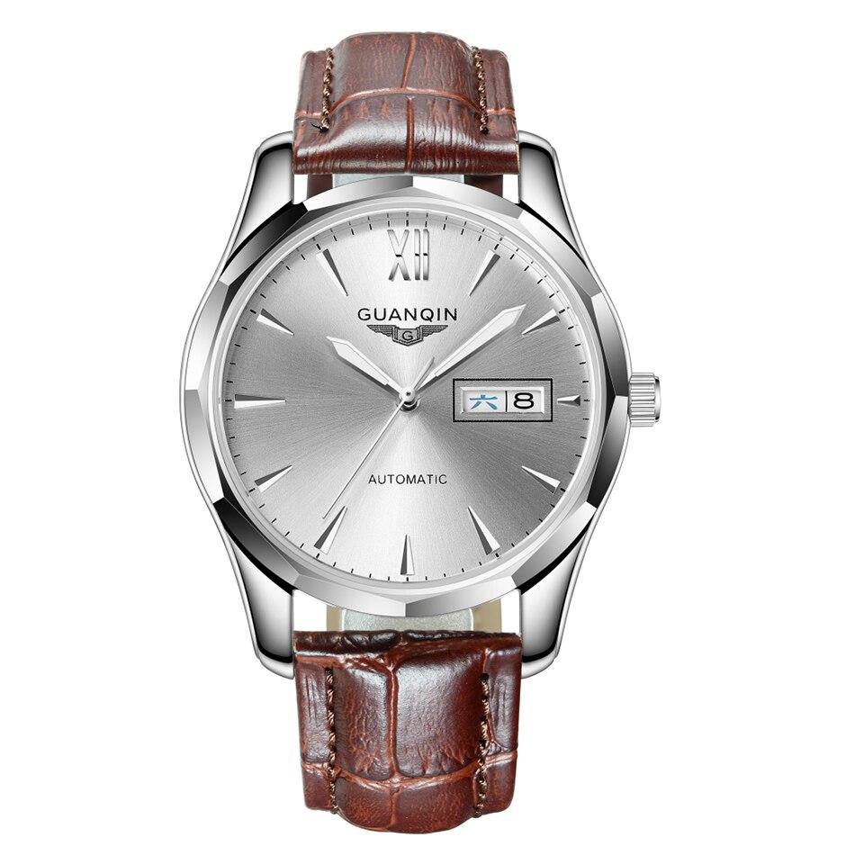 CARNIVAL Blue ручной многофункциональный автоматические мужские механические часы дорогие, брендовые деловые часы StainlessSteel Case Sport relogio - 2