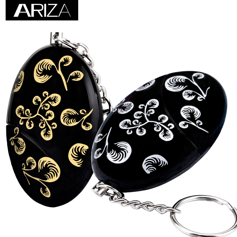 2018 Free Shipping Egg Shape Self Defense keychain Alarm Security Protect Alert Personal Safety Scream Loud personal Alarm free shipping blueskysea 2k s60 body personal security
