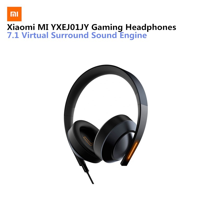 NEW Xiaomi MI YXEJ01JY Gaming headphones airpods earphone Gaming headset USB auriculares with microphone for pc ps4 laptop xiomi oneodio professional studio headphones dj stereo headphones studio monitor gaming headset 3 5mm 6 3mm cable for xiaomi phones pc
