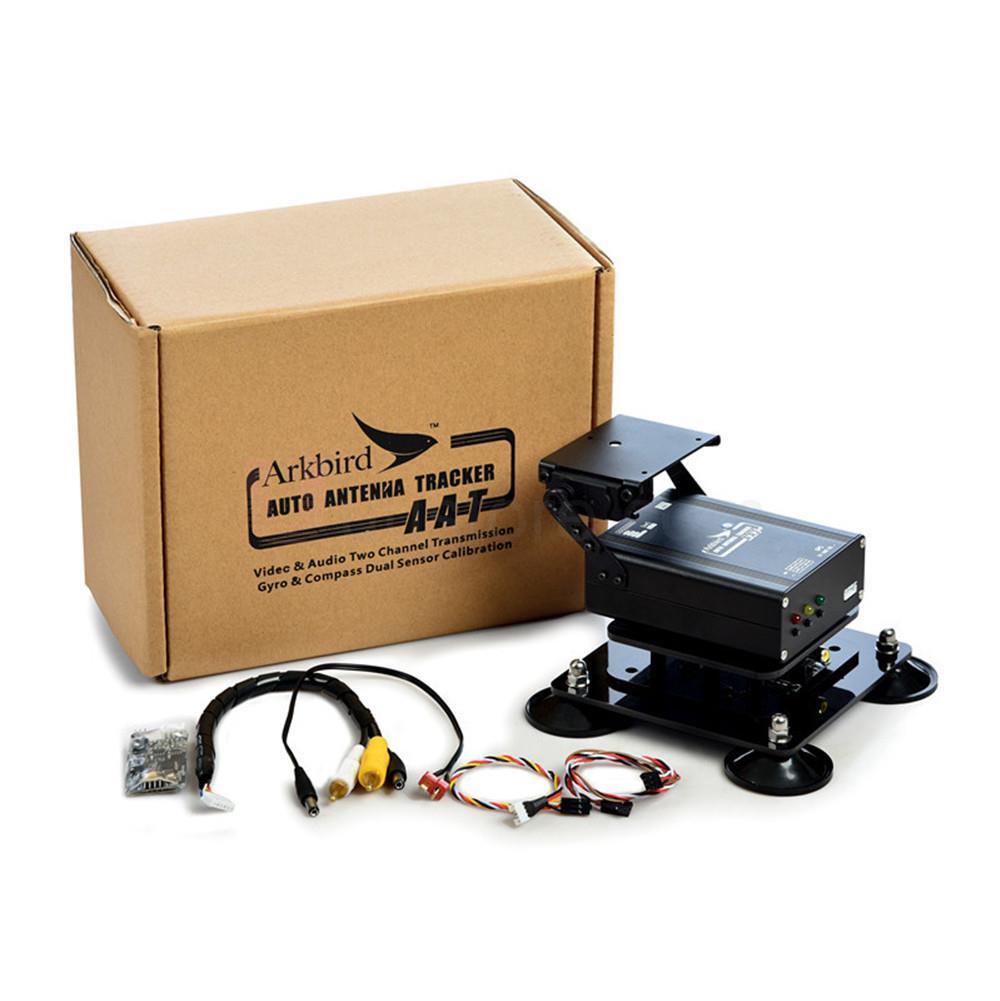 1.2/ 5.8G Ground System FPV Auto Antenna Tracker Gimbal Arkbird AAT w/Ground and Airborne Module Extend Range skylark aat auto antanna tracker iv w compass bluetooth for fpv latest version