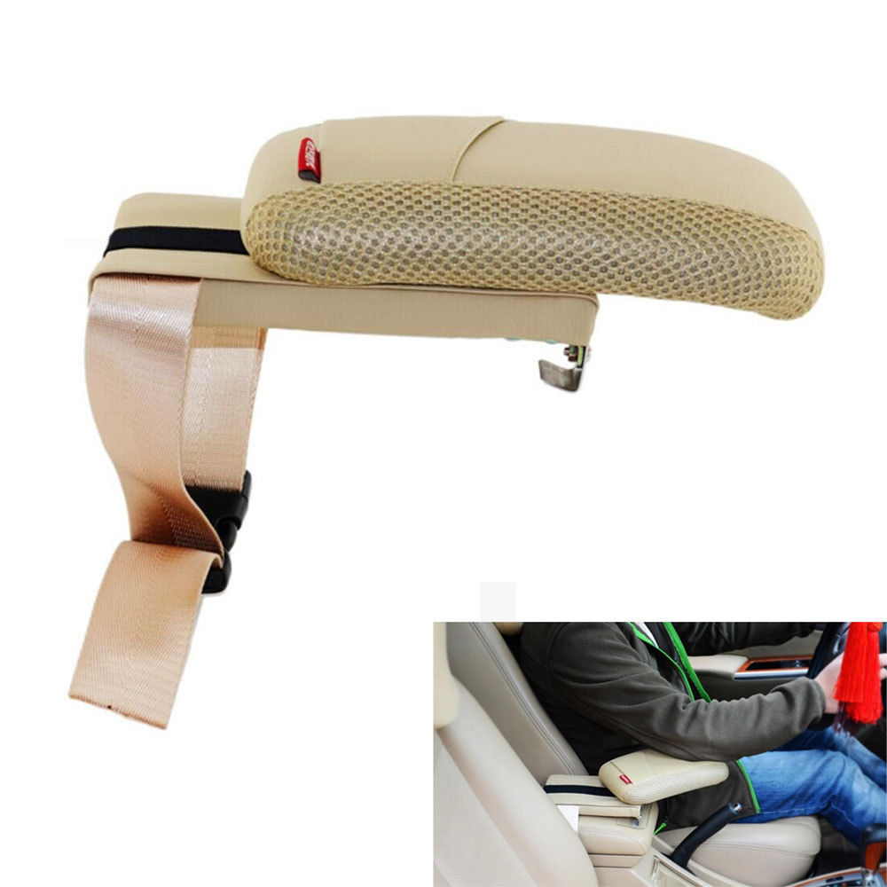 BBQ FUKA Beige Car Styling Center Console Armrest Storage Box Elbow Supporting For Nissan Qashqai X