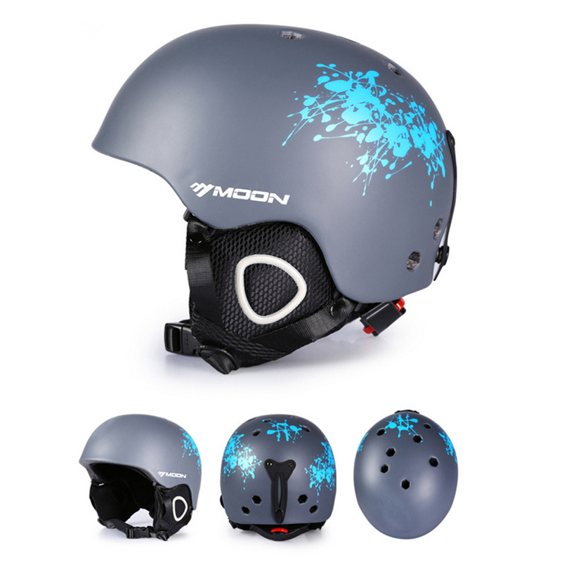 MOON Hot Sale Ski Helmet Integrally-molded Skiing Helmet For Adult Outdoor Sports Snow Helmet Safety Skateboard Snowboard Helmet