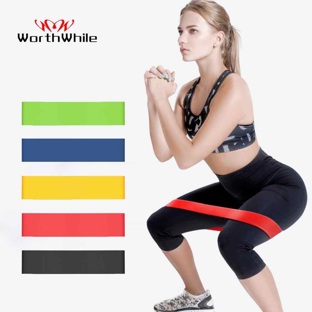 Moeite Waard Sportschool Fitness Weerstand Bands Yoga Stretch Pull Up Assist Rubber Bands Crossfit Oefening Training Workout Apparatuur