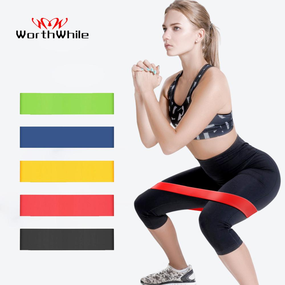 WorthWhile Gym Fitness Resistance Bands Yoga Stretch Pull Up Assist Rubber Bands Crossfit Exercise Training Workout Equipment