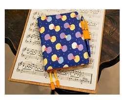 Голубая бабочка hobonichi стиль ежедневник из ПУ-кожи крышка A5 A6