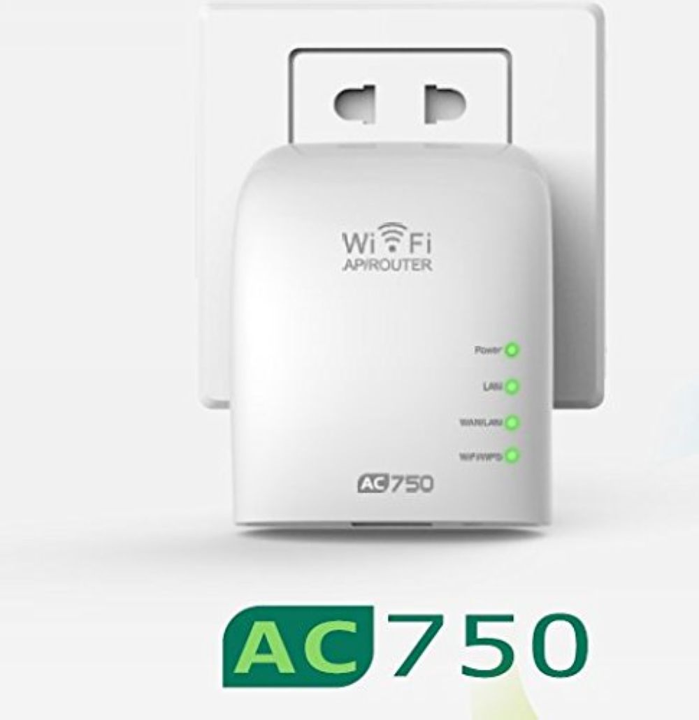 ac 750 mbps dual band concurrent mini wireless router wifi repeater wifi range extender. Black Bedroom Furniture Sets. Home Design Ideas