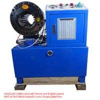 BNT68 tuyau hydraulique Machine à sertir 1/4 à 2 4SH/SP tuyau sertisseur 3KW 31.5Mpa Machine à sertir 110 V/220 V/380 V avec 10 jeux de moule