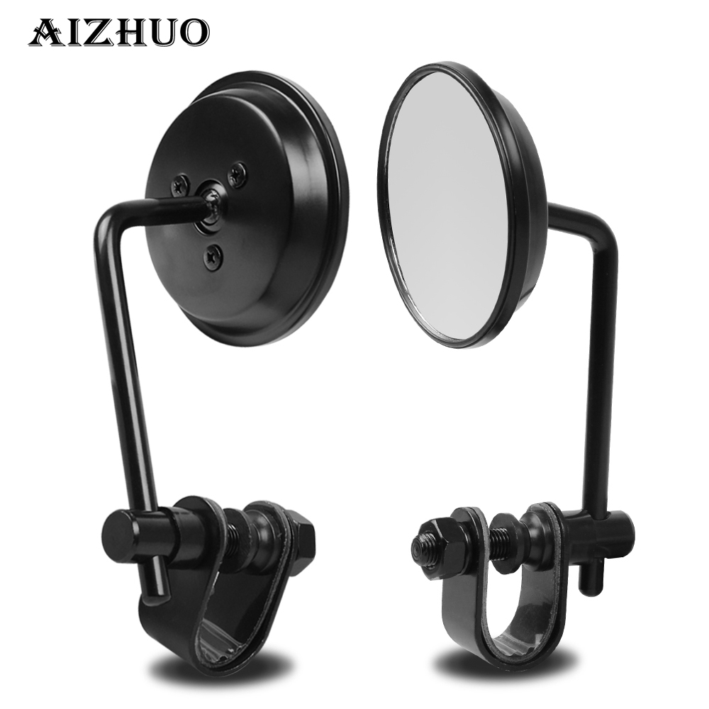 Universal Rearview Side Mirror Motorcycle Mirrors For Yamaha YBR 125 YZF R1 R3 R6 R125 R25 TTR RSZ CBR600 YZF600 MT 03 25 in Side Mirrors Accessories from Automobiles Motorcycles