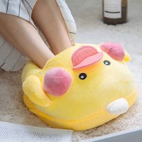 Cartoon Duck USB Warm Treasure Foot Warmer Electric Shoes Cartoon Pillow Heating Cushion Winter Gift