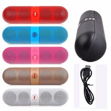 5PCS/LOT High Quality Wireless HIFI Bluetooth Speakers Portable Loudspeakers Bluetooth for Computer Outdoor sports MP3 player