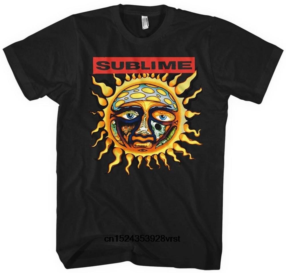 d015d480a Funny men t shirt novelty tshirt women Sublime Band New Sun Concert Adult T- shirt