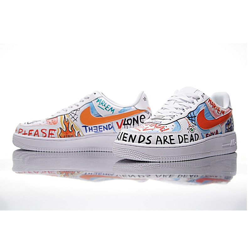 US $74.46 49% OFF NIKE AIR FORCE 1 LOW Men and Women Skateboarding Shoes ,White,Abrasion Resistant Non slip Waterproof Packaged 923088 100 in