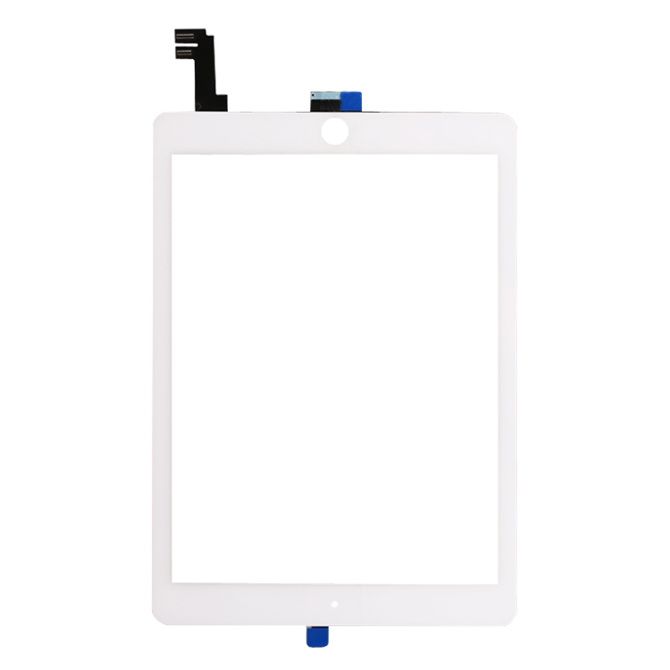 White Digitizer Touch Screen Outer Glass Panel for iPad Air 2 2nd Gen Generation