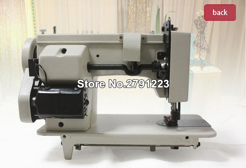 Portable Walking Foot Zigzag Stitch 9 Arm Sewing Machine Leather